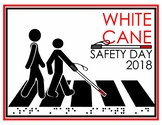 White Cane Safety Day Poster