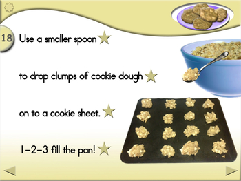 White Chip Island Cookies - Animated Step-by-Step Recipe - Regular