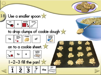 White Chip Island Cookies - Animated Step-by-Step Recipe - SymbolStix