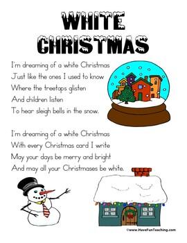White Christmas Lyrics