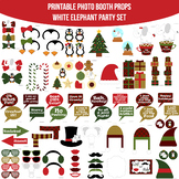 White Elephant Party Printable Photo Booth Prop Set