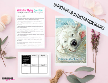 White Fur Flying -85 Literal Questions & Handouts {Battle of the Books}