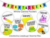 White Genre Posters (Bright & Clear Decor)