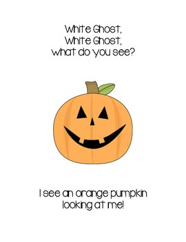 Halloween: White Ghost, White Ghost What Do You See? Book
