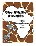 The White Giraffe by Lauren St. John Reading Comprehension Test Pack Bundle
