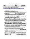 White House Interactive Activity Sheet