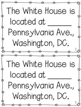 White House Mini-Books
