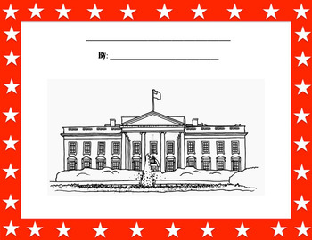 White House Writing Paper and Title Page