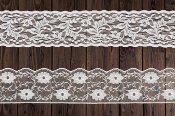 White Lace Borders Clipart