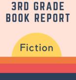 White Level (3rd grade) IRLA Book Report
