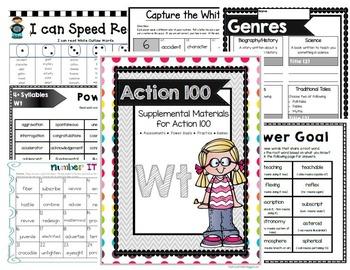 Action 100 White Supplemental Bundle