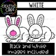 White Objects Clipart {Creative Clips Clipart}