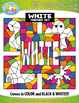 White Objects Color By Code Clipart {Zip-A-Dee-Doo-Dah Designs}