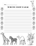 White Post Farm Writing Paper