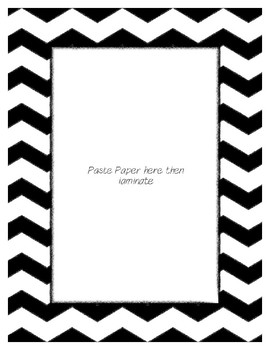 White Poster Frames * Create Your Own Dream Classroom / Daycare *