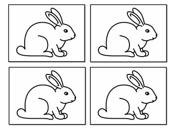 """White Rabbit's """"I SEE A""""  Color Word Pocket Chart"""