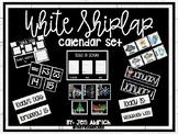 White Shiplap Calendar Set (with FREE weather graph printa