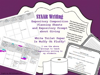 White Toilet Paper is Wuffy Oh Fluffee Expository Planning Guide with Prompt