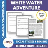 White Water Adventure Down the Ottawa River: A Social Studies Reading  Gr. 3-4