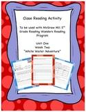 """White Water Adventure"" Reading Wonders 5th Grade Unit 1 Week 2"