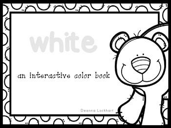 White-an interactive color book