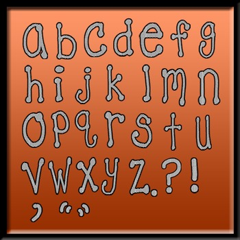 Letters/Alphabet/Font White and Black Chevron