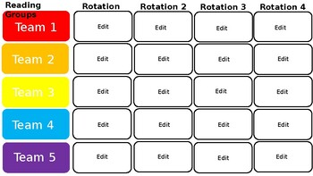 White and Brights Digital Centers Rotations (EDITABLE)