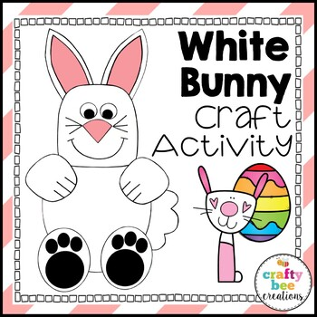 White Bunny Cut and Paste