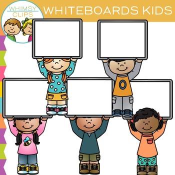 Whiteboard Kids Clip Art