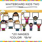 Whiteboard Kids Clip Art - Set Two