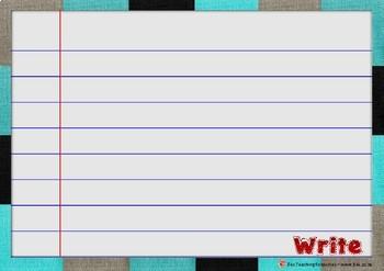 Whiteboard Marker Write on Sheets