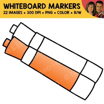 Whiteboard Markers Clipart