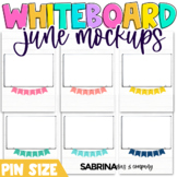 Whiteboard Mockup for Digital Resources | June Edition {Pin Size}
