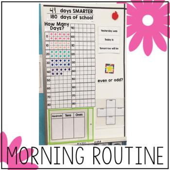 Whiteboard Morning Calendar