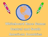 Whiteboard Race Game: Central and South American Countries