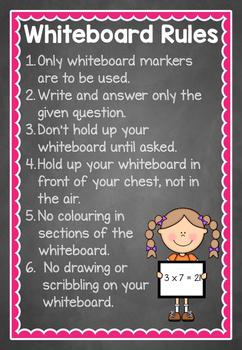 Whiteboard Rules
