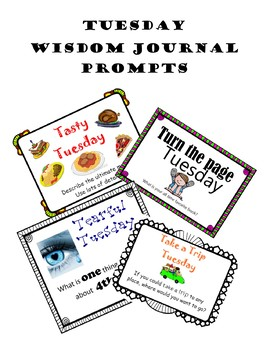 Whiteboard of Wisdom Prompts - Tuesday