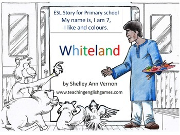 Whiteland: Story for talking about yourself