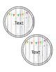 Whitewash Brights Editable Rainbow Labels--8 Designs!!