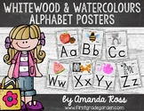 Whitewood & Watercolours Alphabet Posters