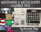 Whitewood & Watercolours Calendar Pack