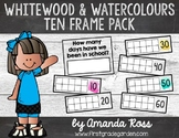 Whitewood & Watercolours How Many Days of School? Ten Frames
