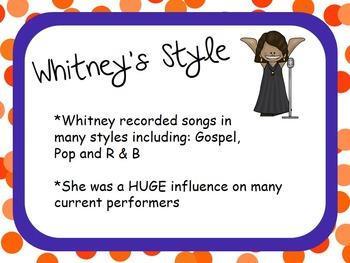 Whitney Houston: Musician in the Spotlight