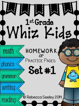 Whiz Kids #1: Homework For Little Learners
