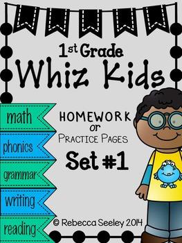 Whiz Kids #1: Homework For Little Learners