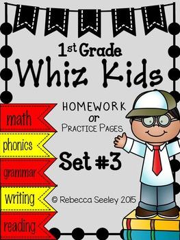 Whiz Kids #3: Homework for Little Learners