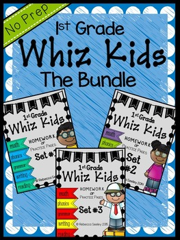 Whiz Kids The Bundle: Homework for Little Learners