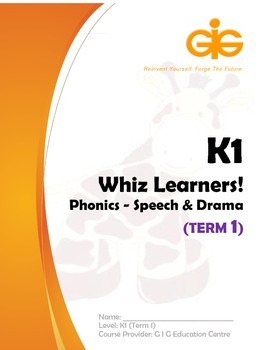 Whiz Learners Phonics-Speech & Drama Teaching Tool Kit (Free Sample)