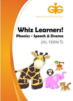 Whiz Learners Phonics-Speech & Drama Teaching Tool Kit (Fr