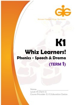 Whiz Learners Phonics-Speech & Drama Teaching Tool Kit (K1 Lesson 2)